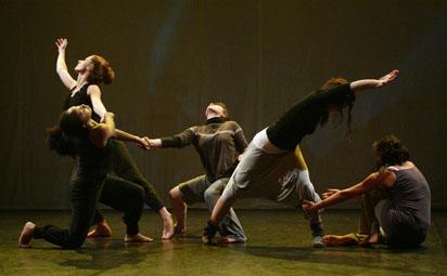 Répétition de la pièce chorégraphique Hic & Nunc